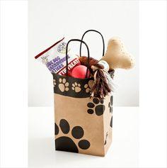 Luxury Doggy Gift Bag, Dog Basket/ Hamper. Toys & Treats. Xmas Gift! 5060096194538 on eBid United Kingdom