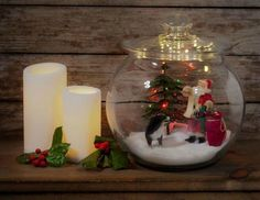 Don't Throw Out That Glass Jar Before You See These Christmas Ideas | Hometalk