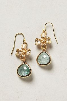 Dittany Drop Earrings #anthropologie