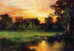 Easthampton by Thomas Moran