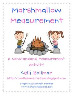 Marshmallow Measurement is a yummy and fun way for your kiddos to explore nonstandard measurement! Provide students with mini and regular size mars...