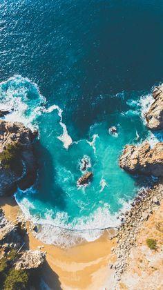 Sea, Ocean - Photography, Landscape photography, Photography tips Ocean Wallpaper, Summer Wallpaper, Nature Wallpaper, Wallpaper Backgrounds, Ocean Photography, Aerial Photography, Travel Photography, Headshot Photography, Photography Lighting