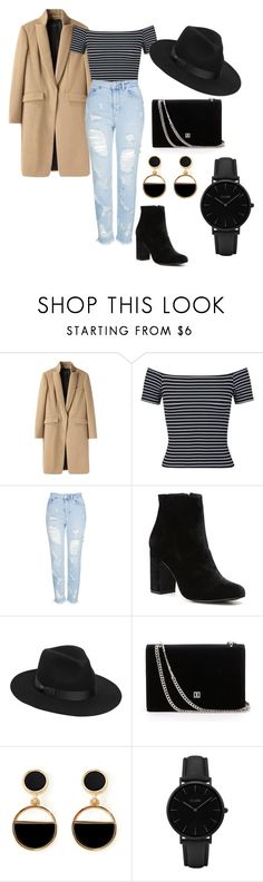 """""""#42"""" by wiktoria-duszynska ❤ liked on Polyvore featuring rag & bone, Miss Selfridge, Topshop, Witchery, Lack of Color, Warehouse, CLUSE, outfit and kpop"""