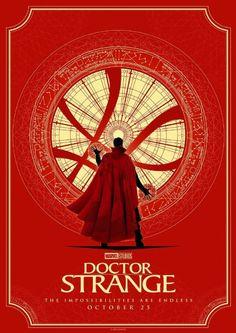 Doctor Strange #alternative #movie #posters #art