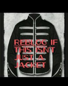 It's not just a jacket. It's an idea. <<<<<yes