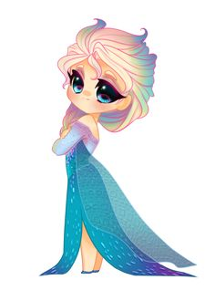 Chibi Elsa by Uoii on DeviantArt