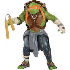 Teenage Mutant Ninja Turtles Movie Mike Action Figure, Multicolor