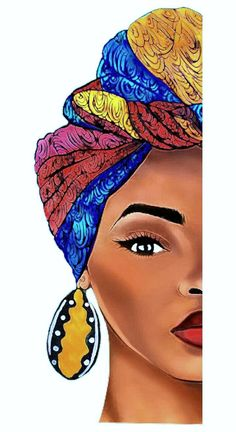 Young African woman you are beautiful and elegant; but learn to work own your world. Young African woman you are beautiful and elegant; but learn to work own your world. For you cannot eat your beauty. Black Love Art, Black Girl Art, Art Girl, Black Art Painting, Black Artwork, Afro Painting, Arte Black, African Art Paintings, African Artwork