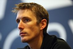 ROUBAIX, FRANCE - JANUARY 10: Andy Schleck of Luxembourg and the Trek Factory Racing team looks on during the Trek Factory Racing Team launch at the Stab Velodrome on January 10, 2014 in Roubaix, France. (Photo by Bryn Lennon/Getty Images)