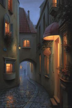 Evgeny Lushpin art: Originals and Giclee Prints