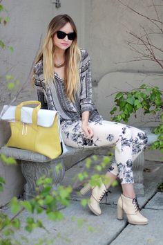 "J Brand ""Empress"" Floral Twill Skinny Jeans at http://jwlove.co/empressfloral"