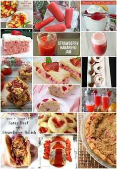 Amazing and delicious strawberry recipes