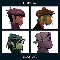 Gorillaz - Demon Days. Damon Albarn's finest hour. I never really liked Blur that much back in the 90s, but they have grown on me a bit too.