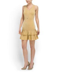 Ari Crocodile Lurex Mini Dress #CBShoppingSpree @CELEBUZZ