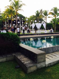 So beautiful Bali Holidays, Bali Wedding, Outdoor Decor, Beautiful, Home, Ad Home, Homes, Haus, Houses