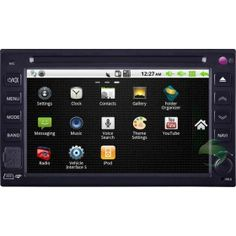 Android Car DVD Gps navigation Stereo for Universal model(Nissan/ Hyundai) with Radio Bluetooth 3G Wifi-1