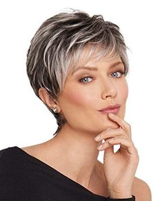 Mother Of The Bride (or Groom) Hairstyles / 2020 Guide] ★ mother of the bride hairstyles short textured haircut hswwigs Short Hair Undercut, Undercut Hairstyles, Pixie Hairstyles, Pixie Haircuts, Haircut Short, Trending Hairstyles, Cropped Hairstyles, Sassy Haircuts, Gray Hairstyles