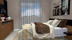 suite dormitorio casal suite master  - Galeria de Projetos Promob