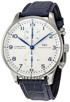 IWC Portuguese ChronoAutomatic Steel Blue Mens Watch IW371417 - cuff watch, nice watches for men, watches for guys *sponsored https://www.pinterest.com/watches_watch/ https://www.pinterest.com/explore/watch/ https://www.pinterest.com/watches_watch/pocket-watch/ http://www.cnn.com/2016/11/18/luxury/grand-prix-horlogerie-oscars-of-watches-2016/
