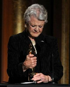 Finally!  Angela Lansbury with an Oscar.
