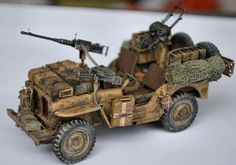 SAS Jeep Tamiya 1:35