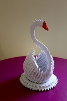 Créations origami 3d sur A Little Market