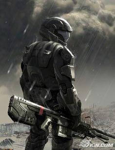Halo ODST (Orbital Drop Shock Trooper).