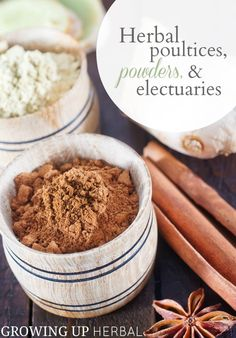 Today in the Using Herbs series I'm talking about herbal poultices, powders, and electuaries. What they are, how to use them, and how to make them yourself at home. Join me, and learn how to start using herbs.