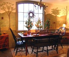 Eye For Design: Decorate With Primitive Colonial Murals