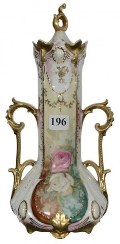 """9 1/2"""" RSP TWO-HANDLED COVERED URN  $400"""