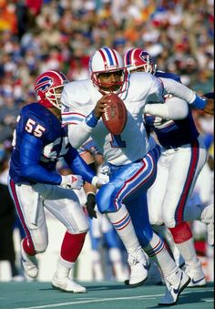 Warren Moon. One of the greatest quarterbacks of the 80's and early 90's.