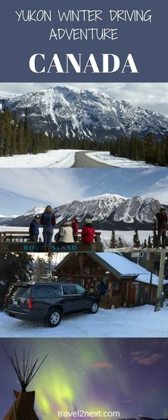 Yukon Adventures - Whitehorse Winter Driving Itinerary. A self-drive holiday in winter is an adventure in the Canadian Yukon.
