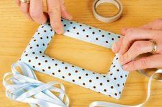 How To Make Fabric Photo Frames