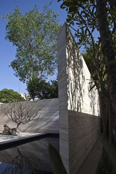 Modern House Design #thearchitectsdiary #architecture #hardscape #landscape #stone #outdoor #area