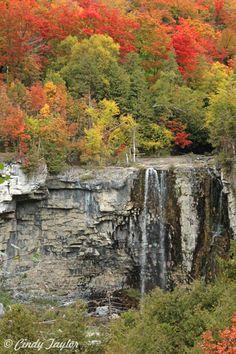 """Eugenia Falls near Flesherton, Ontario""    Beautiful landscape."