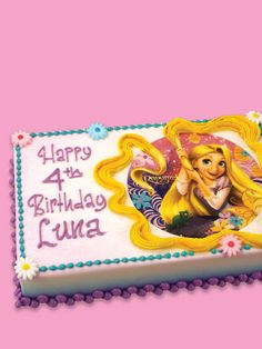 Rapunzel - Tangled Birthday Cake