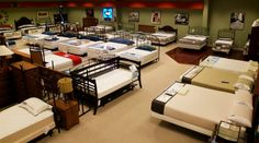 mattress showroom accessories - Google Search