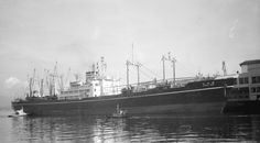 Sanuki Maru, built in the late 30s as a merchant cargo liner, requisitioned by the imperial japanese navy at the outbreak of war. Was converted into a seaplane carrier/cargo ship. Sunk in Jan 1945 off the coast of china by USS Spadefish. This photo taken in Vancouver (!) probably just before hostilities broke out. Photo Credit: City of Vancouver