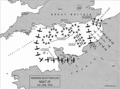 JUN 6 1944 0100: Taxable, Glimmer, Mandrel and Titanic The range of deception plans that successfully confused the Germans about what was happening in the hours before the invasion.