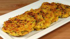 Spicy Corn Patties (Fritters) Recipe by Manjula