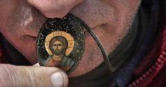 Ne apărăm credința nu pentru că are nevoie Dumnezeu de aceasta, ci pentru că noi avem nevoie de ea Rings For Men, Faith, Christian, Bethlehem, Icons, Beauty, Men Rings, Symbols, Nativity
