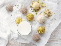 Lemon Ricotta Bliss Balls