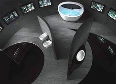 bathroom inspiration futuristic photo