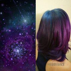 Galaxy Hair: der halluzinierende Haar-Trend Source by peldyn