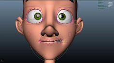 Facial Rigging: Francisco Tejo Model: David Gallagher