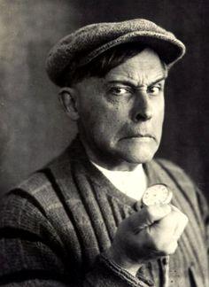 Stanislaw Ignacy Witkiewicz - Autoportrait, Zakopane, 1931