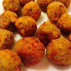 Tasty Fried Eggplant Balls #friedeggplantrecipes