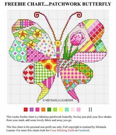 Thrilling Designing Your Own Cross Stitch Embroidery Patterns Ideas. Exhilarating Designing Your Own Cross Stitch Embroidery Patterns Ideas. Butterfly Quilt Pattern, Butterfly Cross Stitch, Cross Stitch Heart, Cross Stitch Borders, Simple Cross Stitch, Cross Stitch Animals, Cross Stitch Flowers, Cross Stitch Designs, Cross Stitch Patterns