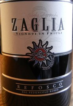Zaglia Refosco from #Friuli available only at vino-direct.com for only 12.75!!! Own it Today!