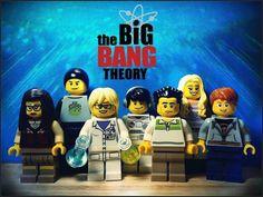 "Lego Minifigure ""The Big Bang Theory"" Cast"